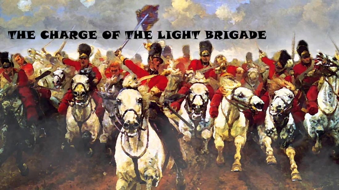 essay on charge of the light brigade The charge of the light brigade: the charge of the light brigade, poem by alfred, lord tennyson, published in 1855 the poem, written in tennyson's capacity as poet.
